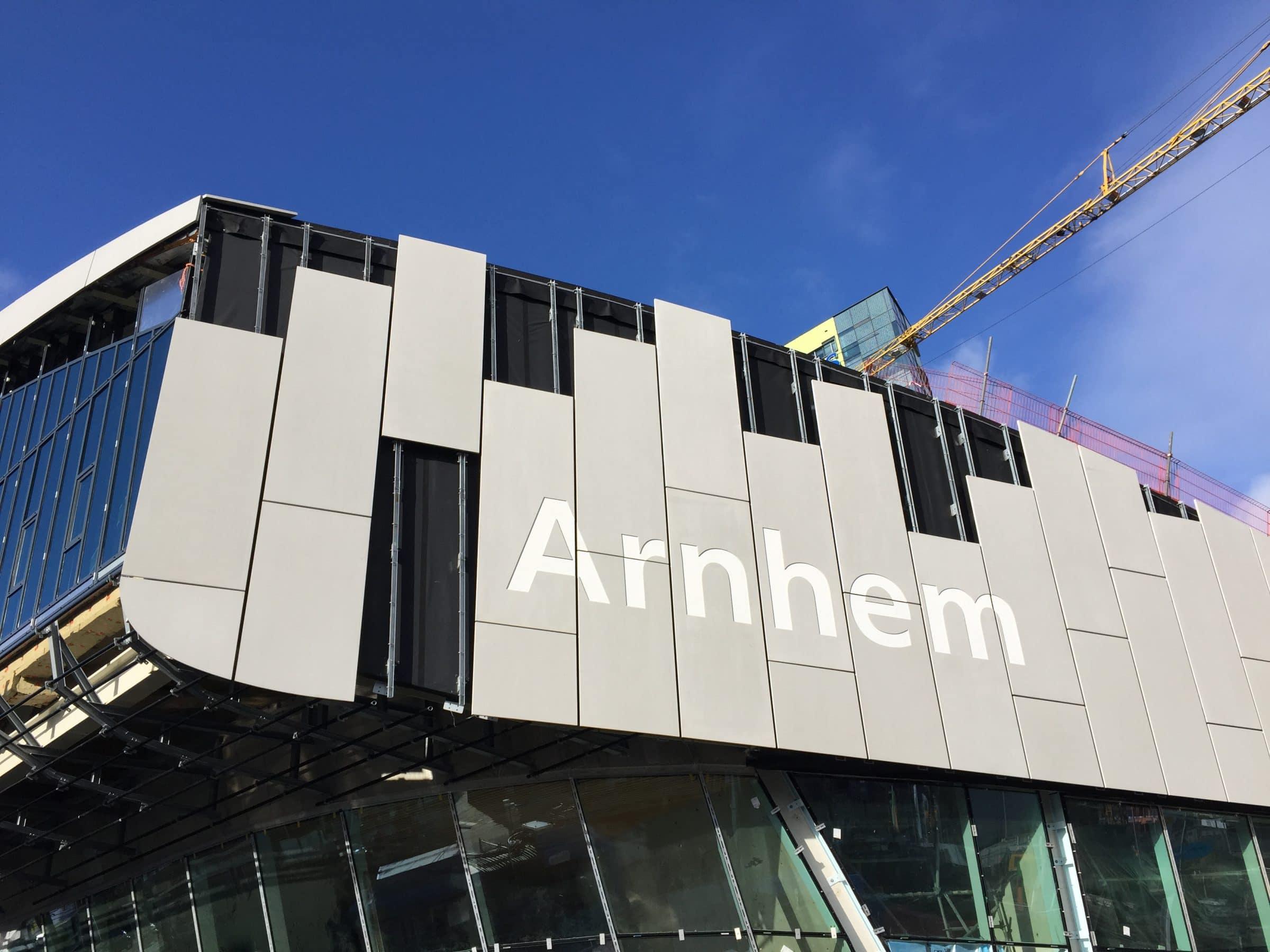 vervanging gevel Arnhem Centraal